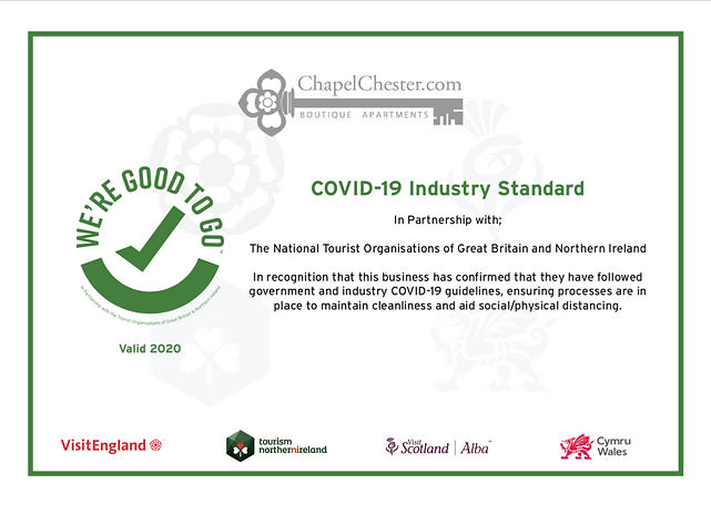 Covid Certificate Good to go Visit Engla