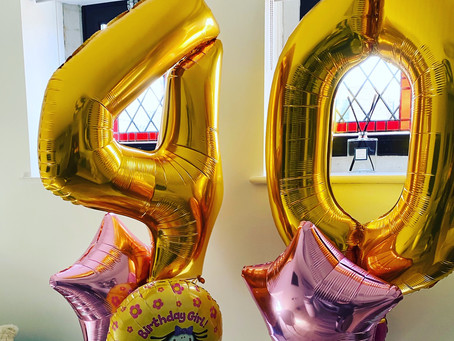 Celebrate the 'Milestone' with Chapel Balloons