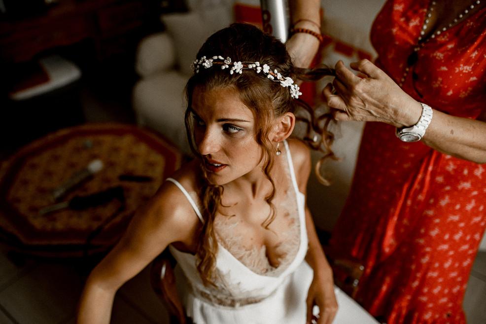 Rock'n Brides-Mariage dans une manade en