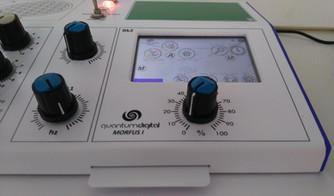 Quantum Digital - Tela Touch Equipamento quântico