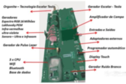 Campos Morfogeneticos  - Quantum Digital - Componentes e geradores internos