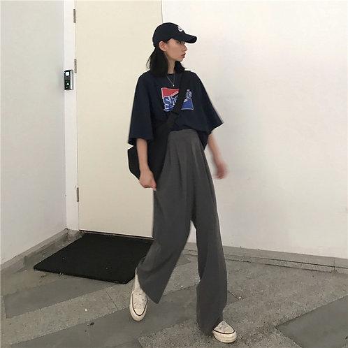 Plain Suit Pants H1683