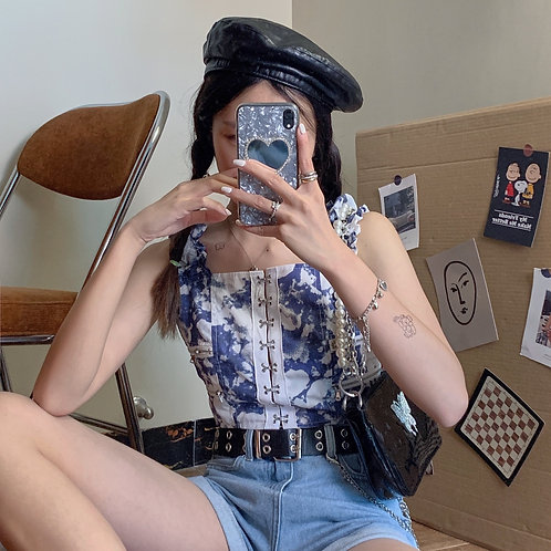 Chinese Print Top