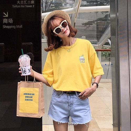 Banana Milk Shirt H808