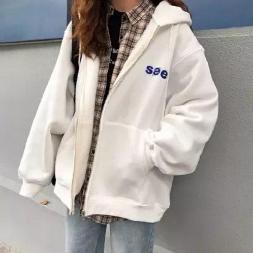 See Oversized Jacket