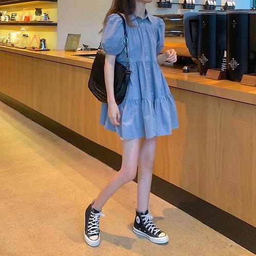 Pompom dress H4016