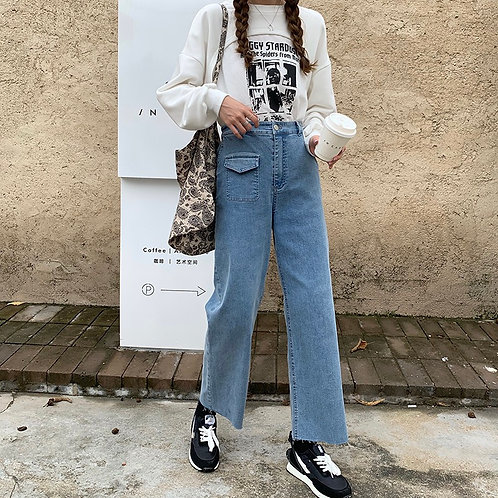 Hannah Flat Jeans H8552
