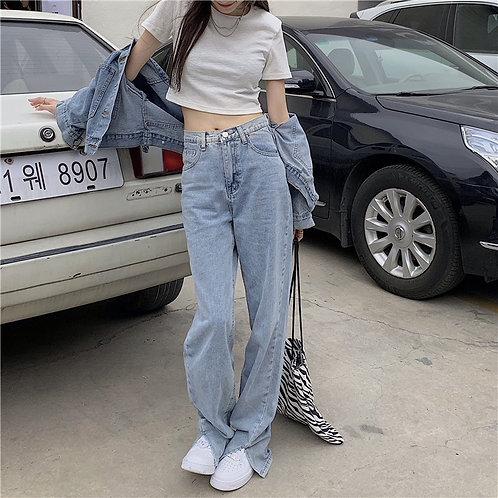 Plain Slim Jeans