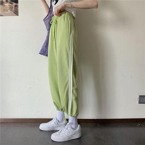 Double stripe Harem Pants