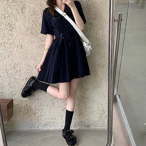 Wrinkled Dress H609