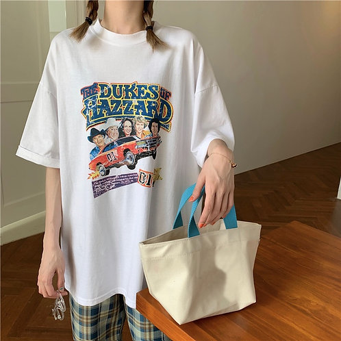 The Dukes Of Hazzard Grapic Print Shirt H63255