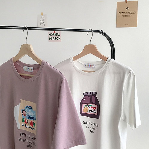 Flavor Jam Printed Shirt H3657