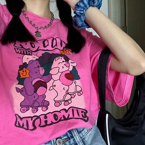 MY HOMIE Oversized Shirt HA04