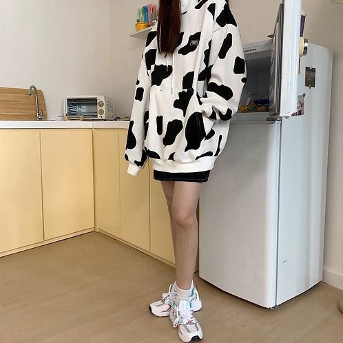 Milk Pattern Hoodie
