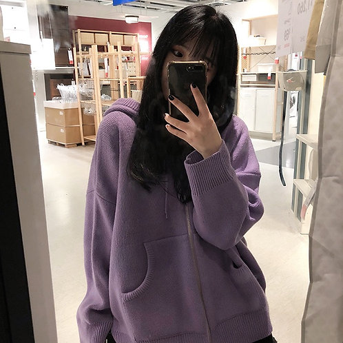 Multiple Colour Knit Cardigan