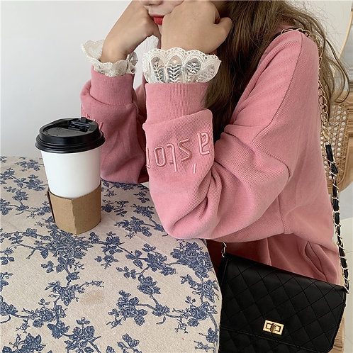 Plain Sweater H2215