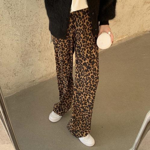 Leopard Fit Pants