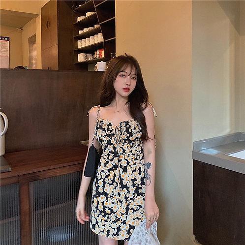 Daisy Print Dress H9821