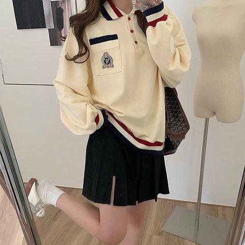 Badge Sweater H10091