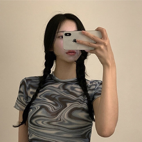 Tie-Dye Slim Dress