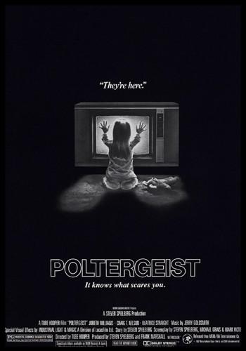 poltergeist cover, horror movie cover, horror film cover