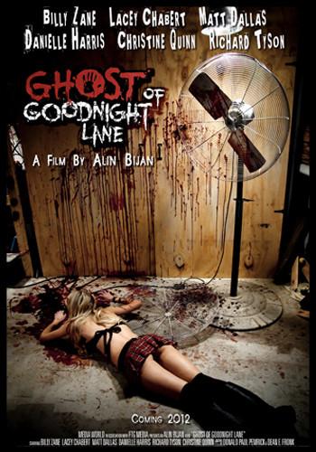 ghost of goodnight lane cover, horror movie cover, horror film cover