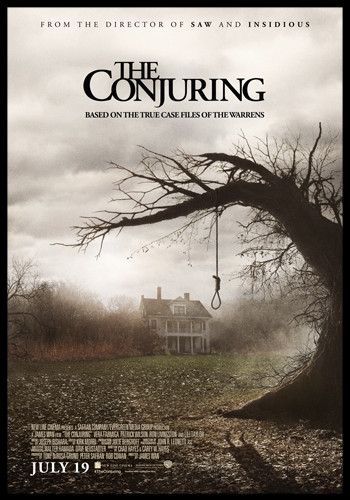 the conjuring cover, horror movie cover, horror film cover