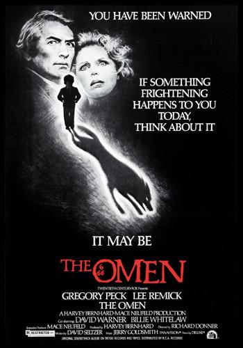the omen cover, horror movie cover, horror film cover