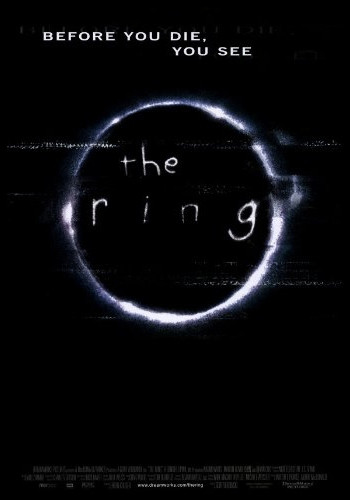 the ring cover, horror movie cover, horror film cover