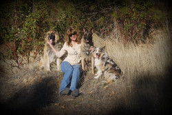 Suzy and dogs