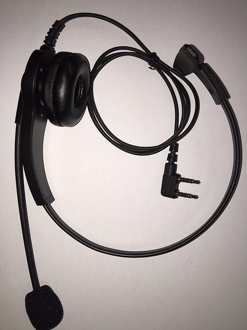 Light Weight Boom Microphone Headset no PTT