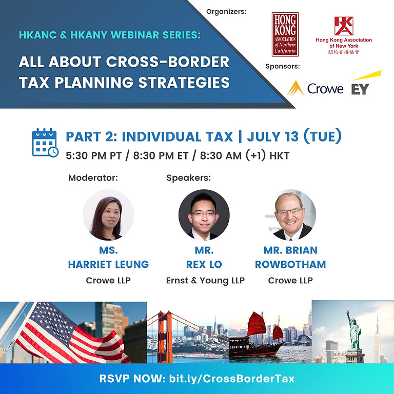 Part II Individual & Multinational Family Tax | All About Cross Border Tax Planning Strategies