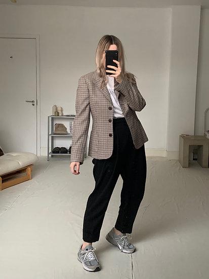 Aquascutum Fine Wool Check Blazer