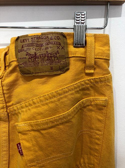 80s Orange Levi's jeans