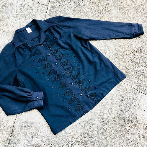 Cotton Oversized Embroidery Anglaise Top