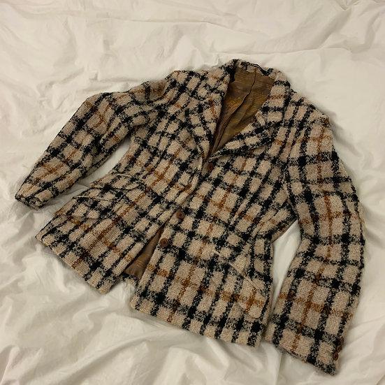 Daks Boucle Wool Blazer