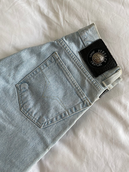 Versace Jeans Couture Pale Stone Wash - size 6/8