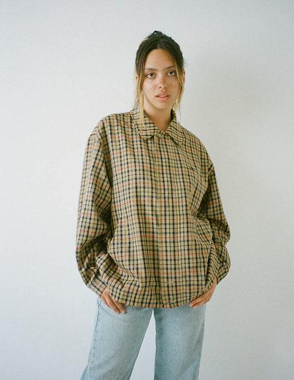 Daks Check Zip Shell Jacket