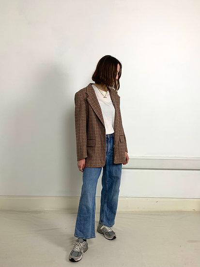 Pure Wool Heritage Check Blazer