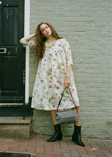 Trapeze Floral Dress - size 10