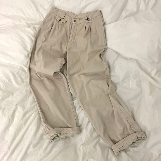 Levis Mens Cotton Pleated Trousers
