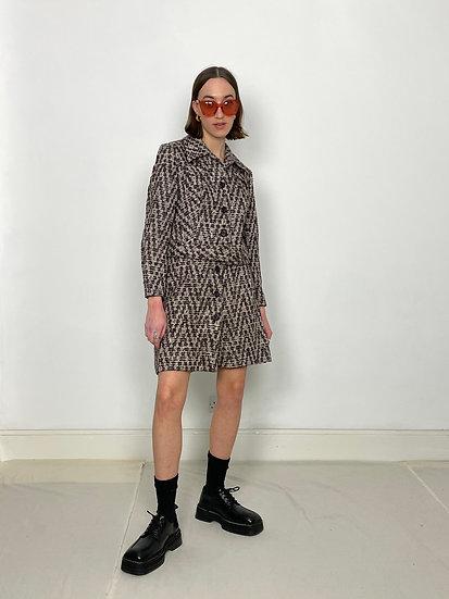Tweed Herringbone Wool Suit