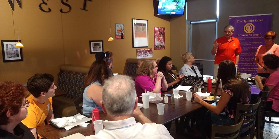 Monthly Urbandale Optimist Club Meeting