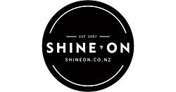 Shine on logo