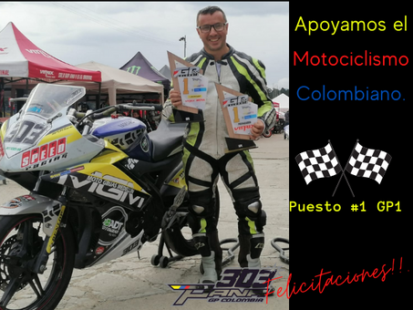 Moto GP Colombia - 1ra. Válida Nacional