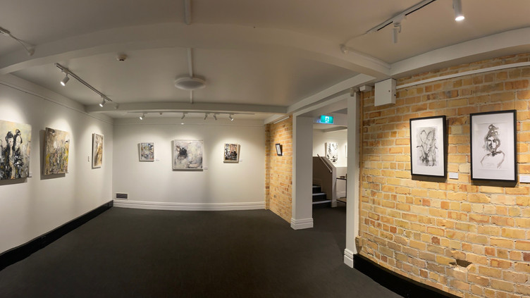 New Exhibition installed today.