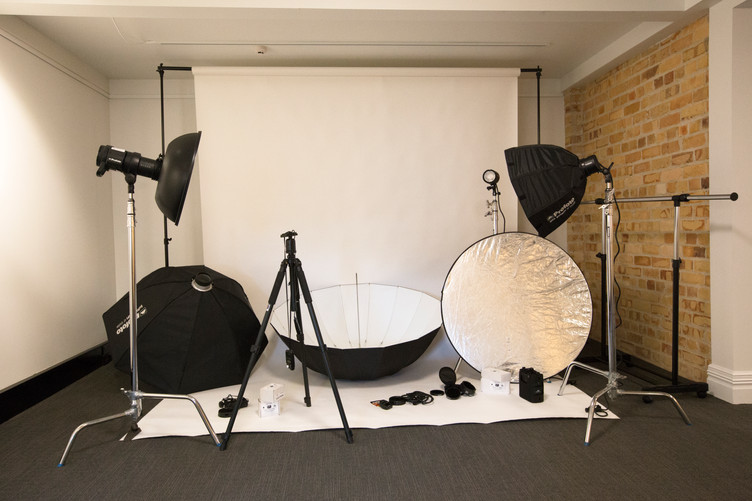 Studio and Equipment available to hire.