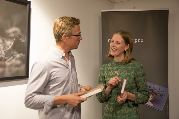 A few shots from the Photobook of the year Awards 2016 opening.