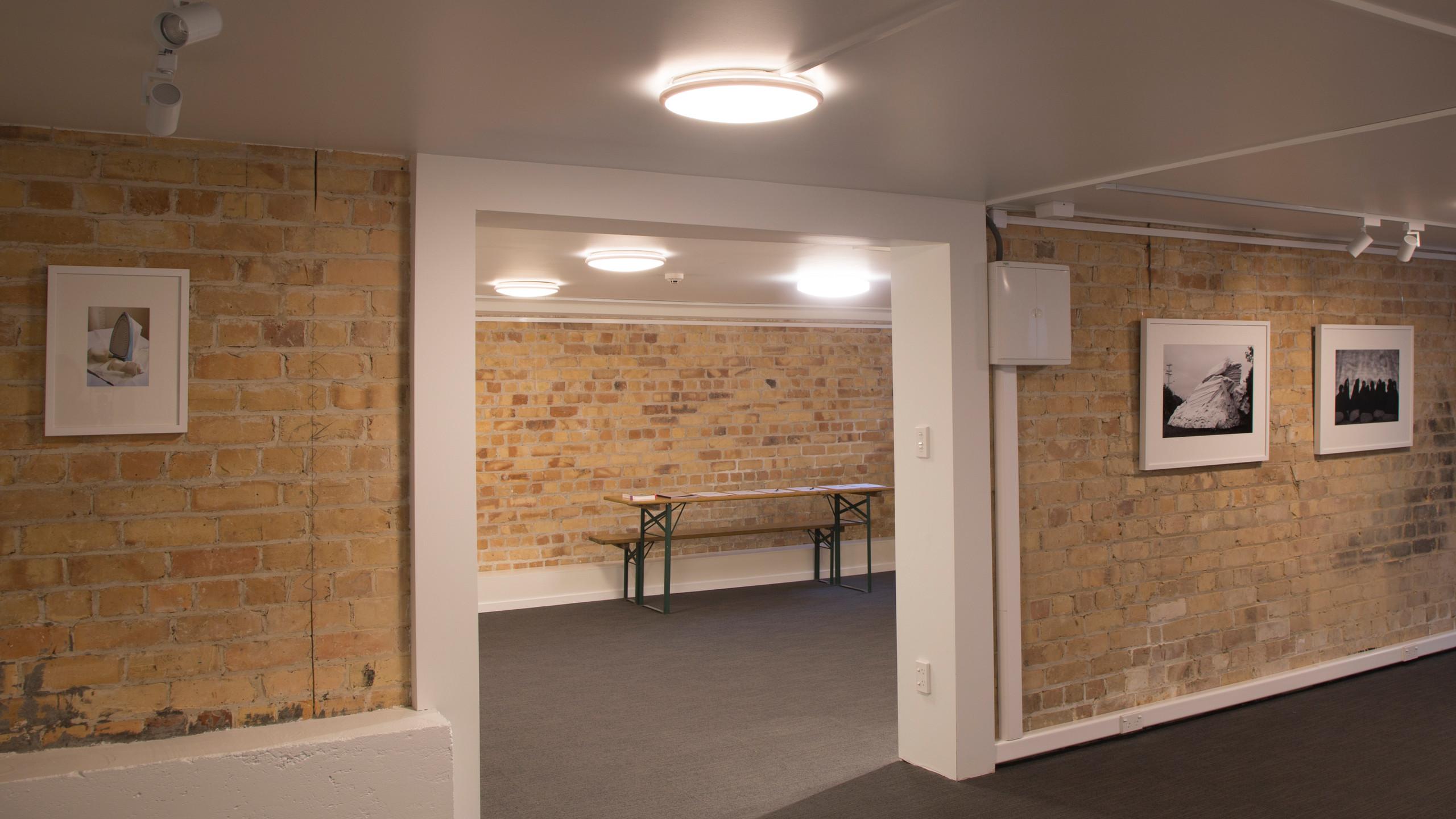 Ground level gallery