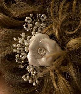"""Rose Blossom 4"""" Comb"""